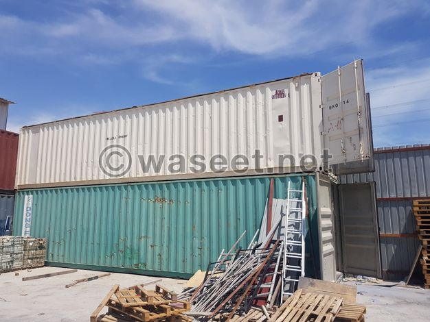 40 ft containers for sale at reasonable price.
