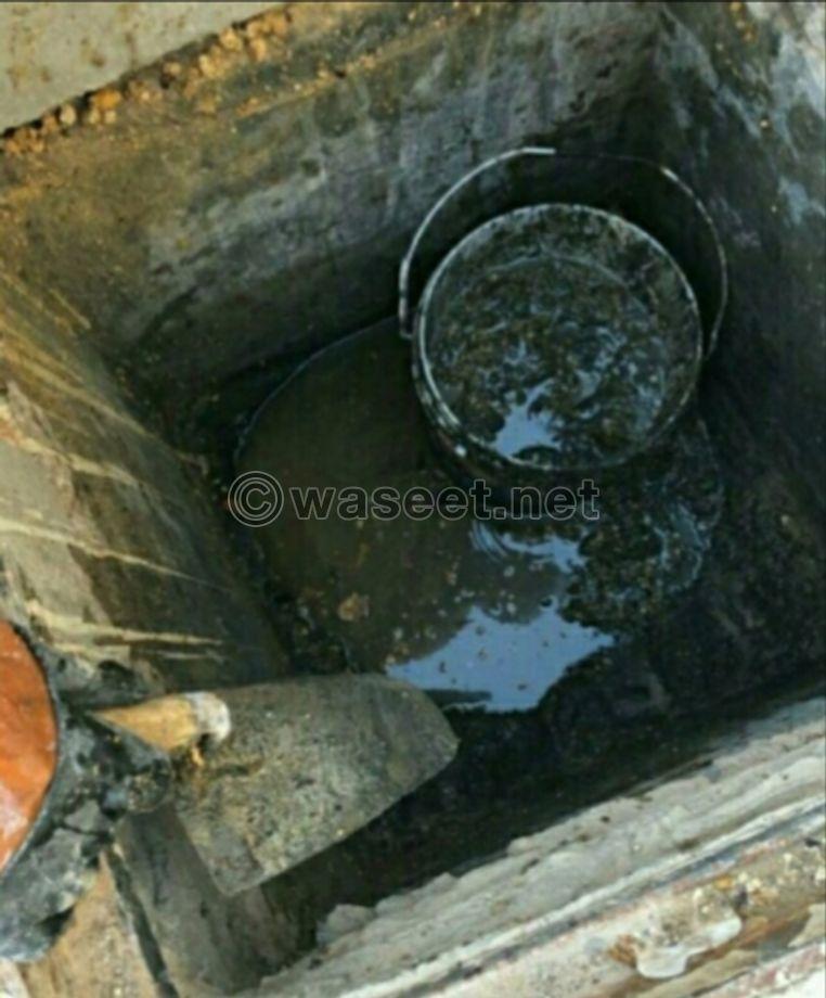 تسليك المجاري والصرف الصحي والمنهيل وتسليك البلاعات