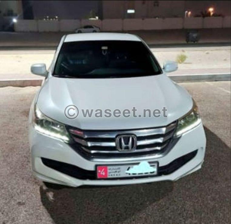 For sale Honda Accord 2016, 0