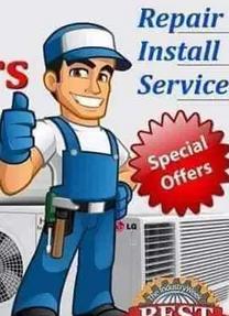 AC refrigerator washer dryer reparing