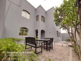 Semi furnished villa close to the Saudi Bridge