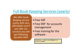 AUDIT REPORT - With free vat & erp