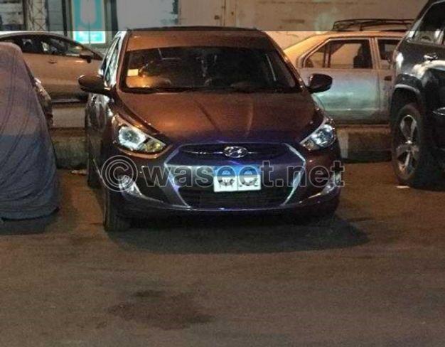 Hyundai Accent Model 2017
