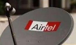 Airtel dish fixing