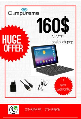 Alcatel pad  new