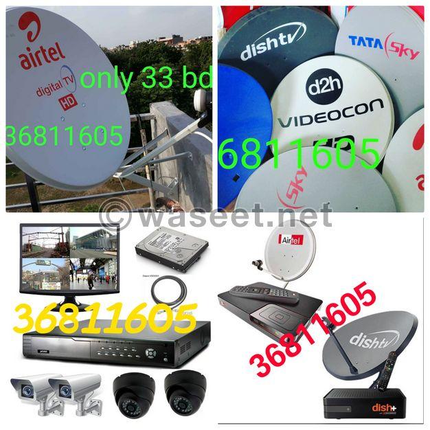 All types of Satellites.