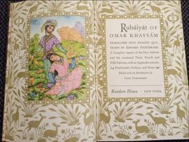Antique: English translation of Roba3iyat Khayyam's divan1947