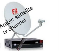 Arabic satellite TV channel new dish fixing