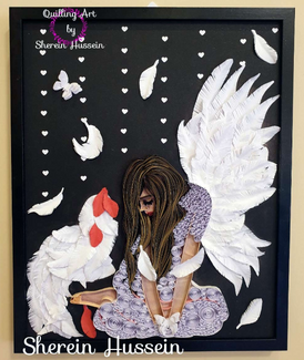 Artwork made by Quilling Art