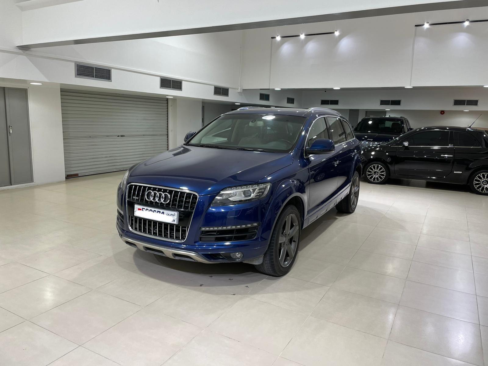 Audi Q7 / 2015 (Blue)