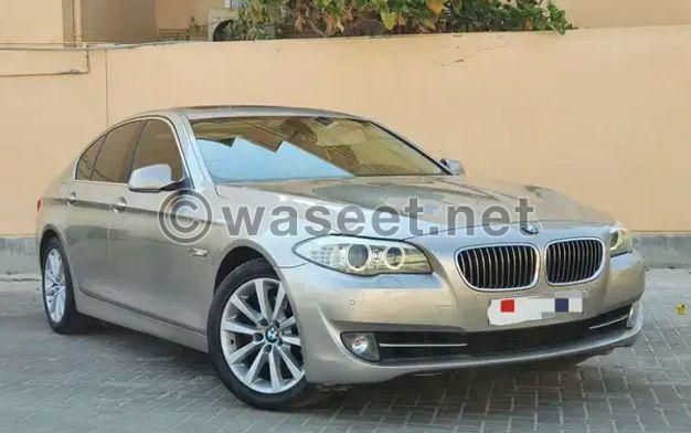 BMW 528i Model 2012 for sale
