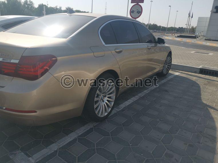 BMW 730Li Gcc 2014 Very clean