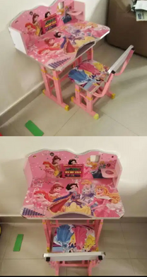 Baby study table with chair