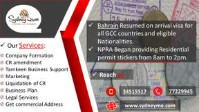 Bahrain allow on arrival visa