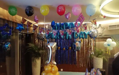 Balloon decoration service