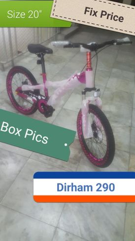 Bicycle for girls 20 inch