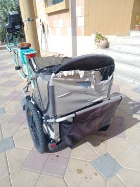 Bike trailer in good working condition for sale