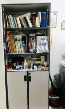Book case cupboard with lots of space