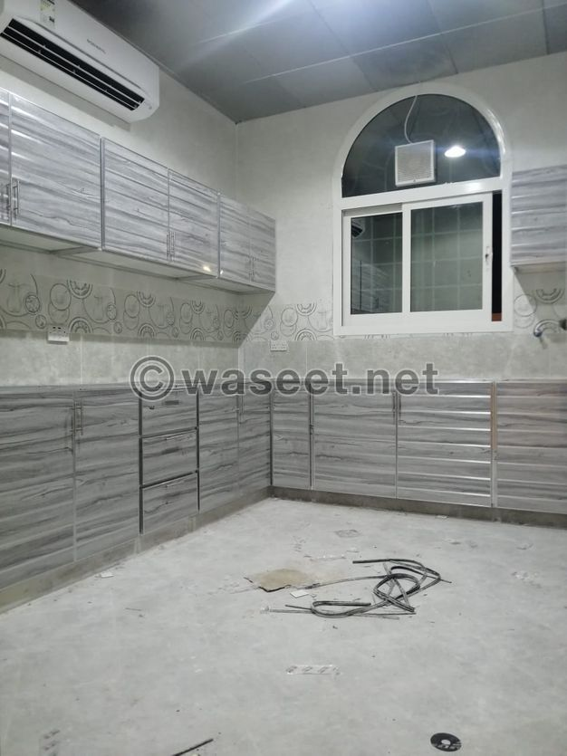 Brand new 4 bed hall 3 bath at al shamkha 80000AED