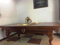 Brunswick 8 ft billiard table with convertible  dining