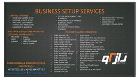 Business Set up & Local Sponsorship Services