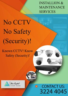 CCTV All kind of  Services