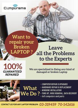 COMPURAMA-repair and new