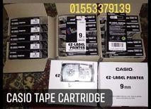 Casio label tape