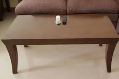 Centre table with matching coffee table