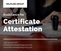 Certificate Attestation in Bahrain