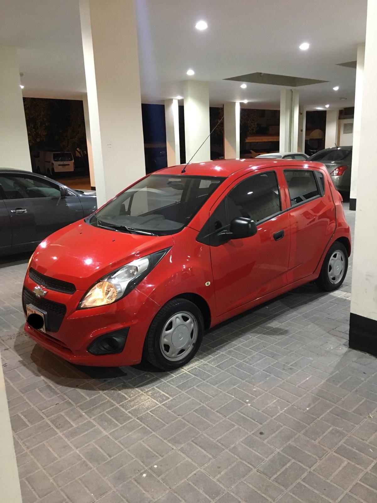 Chevrolet Spark 2014 Red