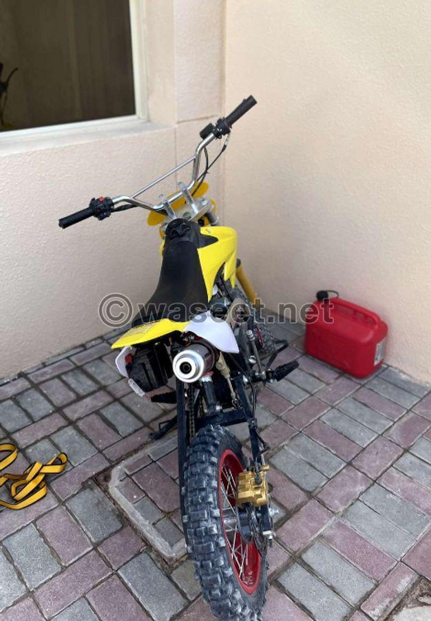 China dirt bike 125cc