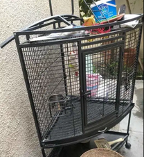 Clean and in good condition, big cage.