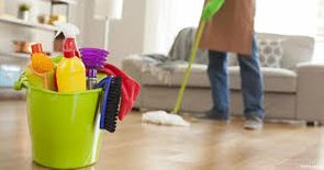 Cleaning services at clay house company