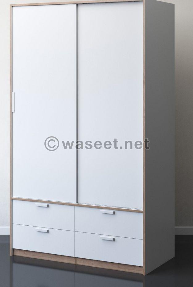 Closet / cupboard / wardrobe white