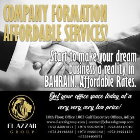Company Formation  & Business  set up for your Company.Inquire now!