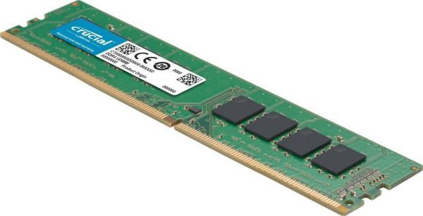Crucial 16GB DDR4 2666 1.2v cl 19 UDIMM