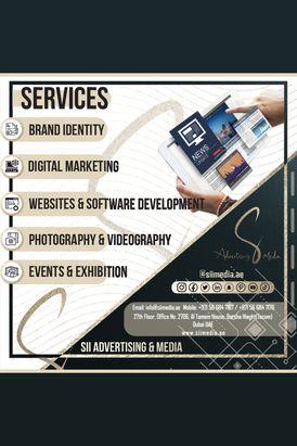 Digital marketing services, Design, website development and more Services