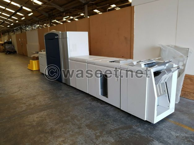 Digital offset printers