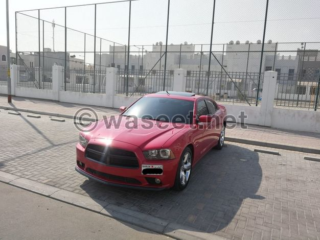 Dodge Charger R/T 2012 (Red)