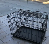 Dog crate , size 75x50x60