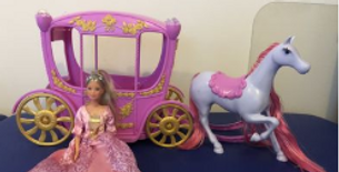 Doll Horse Carriage Set for sale