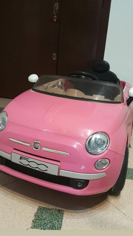 Electronic car for girl