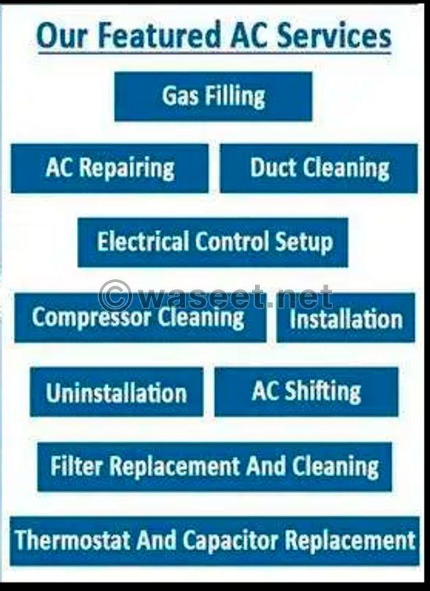 Electrician AC & plumbing