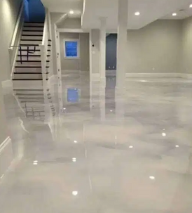 Epoxy Resin Floor Design Painting Works