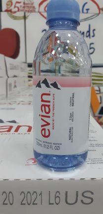 Evian Water Bottle