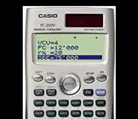 FX-991ES, FC-100V Casio Calculators