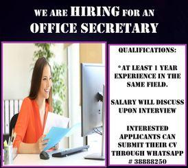 Filipina secretary