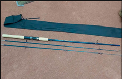 Fishing rod for 180cm used once like new