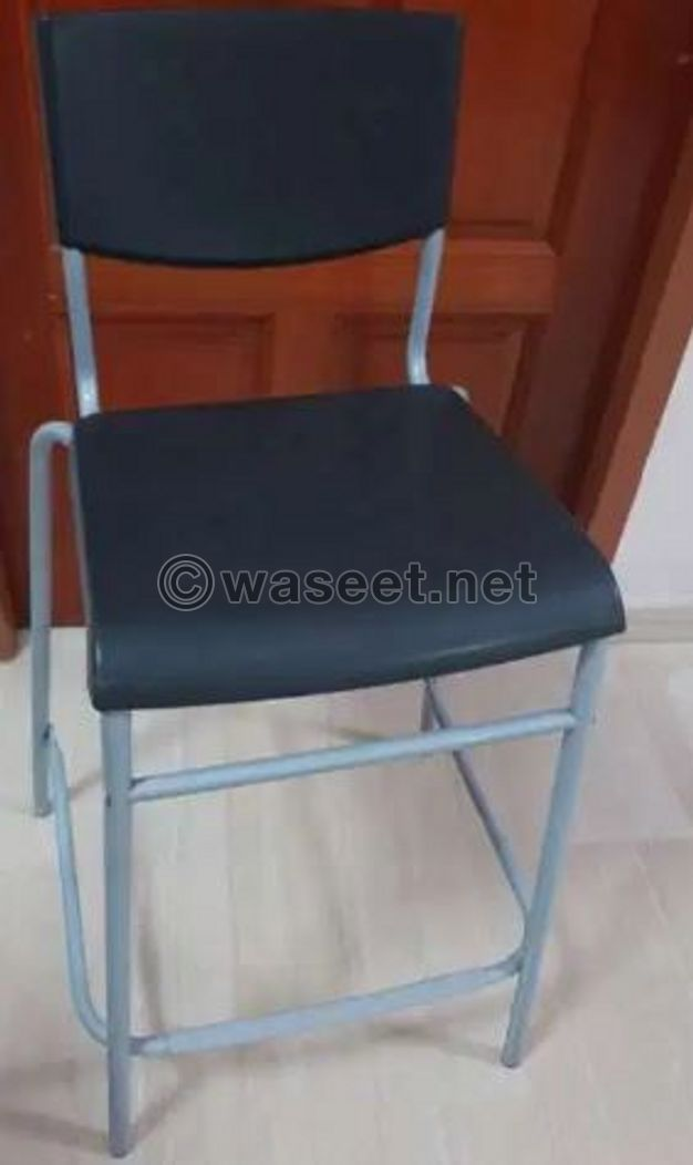 For Sale IKEA Stool with backrest